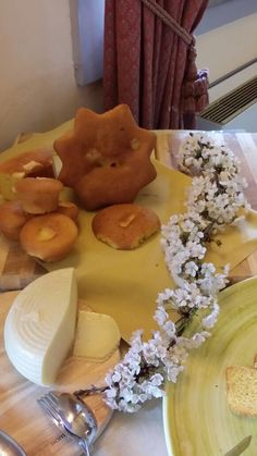 Easter breakfast 2015: local Cheese Pizza and pecorino cheese