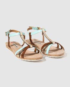 Sandalias planas de mujer Maria Mare