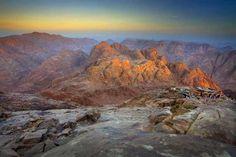 Jebel Musa ...   Photo by Katherine Pedley