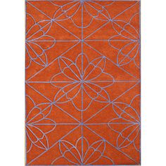 @Overstock - This stylish handmade rug is made from hand-washed New Zealand blend wool. A stunning geometric pattern on a red orange background brings a wonderful look to this rug.   http://www.overstock.com/Home-Garden/Handmade-Red-Orange-Wool-Rug-5-x-8/6655438/product.html?CID=214117 $153.89