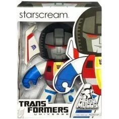 Transformers Universe Mighty Muggs Series 2 Vinyl Figure Starscream *** Be sure to check out this awesome product.Note:It is affiliate link to Amazon.