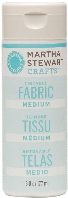 Martha Stewart Crafts 32194 6-Ounce Fabric Medium--use this product mixed with water and any paint to paint upholstery and keep it soft and supple.  (affiliate link)