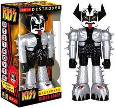 """Vinyl Invaders: KISS Destroyer Demon Robot 11"""" Vinyl Figure"""