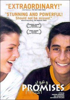 Documentary Films.Title: Promises. Year: 2001. Duration: 106 min. Country: EE.UU. Direction: Carlos Bolado, B.Z. Goldberg, Justine Shapiro.