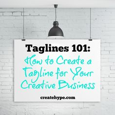 The best taglines convey an immediate benefit and the essence of the brand. Taglines are especially important online. So how do you create a tagline?