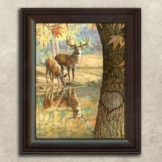 Personal-Prints ''Deer To My Heart'' Framed Wall Art