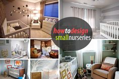 small nurseries design ideas Tips for Decorating a Small Nursery