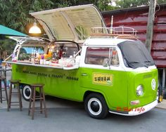 VW cafe bus- Thailand.