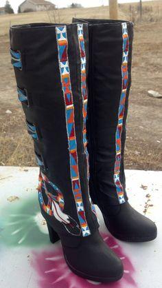 REZ HOOFZ Size 7 Native AmericanLakota by Rezhoofz on Etsy, $165.00