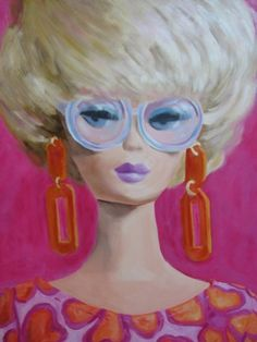 Barbie as Art ~ by Angie - Barbie, Fashion Icon of the 60's