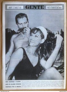 Books, Magazines, Comics - Rivista Magazine - Gente n° 31 1965 - Claudia Cardinale Monica Vitti Kim Novak