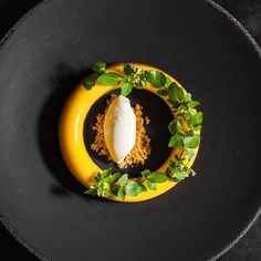 "1,045 Likes, 4 Comments - The Art of Plating (@theartofplating) on Instagram: ""Passion fruit, coconut, buttermilk, and basil ice cream by @jorisbijdendijk #TheArtOfPlating P.S.…"""