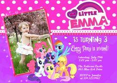 My Little Pony Birthday Party Invitation  by FunPartyInvitation, $8.99