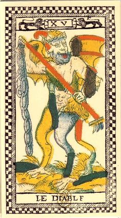 Tarot de Paris - The Devil