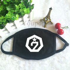 GOT7 K-Pop Boyband Got It Mini Album Official Logo Fashion Face Mask #GOT7 #KPop #Boyband #GotIt #Mini #Album #Official #Logo #Fashion #Facemask #KidolStuff
