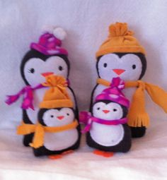 Penguin Softie by EmbroideryStuff on Etsy, $10.00