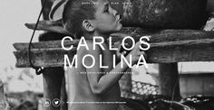 Our latest Most Loved one pager is for the portfolio of developer and photographer Carlos Molina. Take a good browse around this one pager to experience the love put in... super slick transitions, frightening preloaders, quality form error checking and loads more - all in a responsive design. The moving textured effect is also a nice touch!