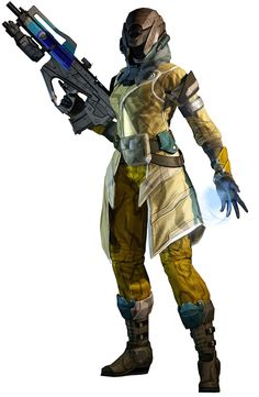 Destiny----Warlock, Level 6 I love being a warlock! I find it more challenging than the titan or hunter class though.