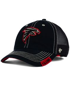 ea3ae54eee0  47 Brand Atlanta Falcons Turner Mesh Clean Up Cap Atlanta Falcons