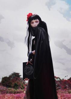 Creepy Fashion Editorials Photo 1
