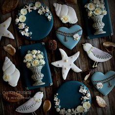 #1 - Summer Nautical Cookies by mintlemonade