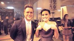 Demi Lovato and Olly Murs - xfactor uk final