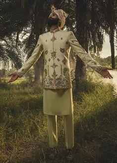 Embroidefed Sherwani Mens Sherwani, Dresses With Sleeves, Long Sleeve, Fashion, Moda, Sleeve Dresses, Long Dress Patterns, Fashion Styles, Gowns With Sleeves