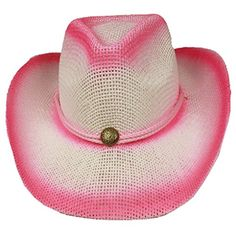 Silver Fever Fashionable Ombre Woven Straw Cowboy Hat 84e2fb69b51a