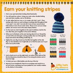For this year's ‪#‎BigKnit‬ we need 1 million hats to raise £250,000 for Age UK. We'd love it if you could help us by knitting a hat or two. We'll be posting more pattern guides in the coming weeks.