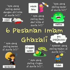 6 Pesan Imam Ghazali