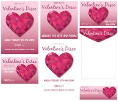 Valentine's Heart Disco