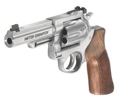 Ruger GP100 Match Champion, Now with Adjustable Sights