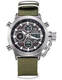 3199f70fd150 Reloj de pulsera deportivo digital analógico de cuarzo para hombre ...