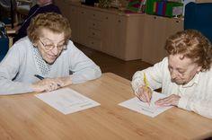 Programas de Estimulación y Actividad Cognitiva en el centro de día para #ancianos en #Alcobendas.