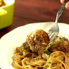 Swedish meatballs, say cheese! This warm, flavorful cheesy bake is one the whole family will love.