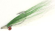 The Green Clouser's Minnow saltwater fly pattern is one of the most versatile.  I tie it on everything from 1/0 to a size 6 hook in light colors.  A great all around fly and bass like too