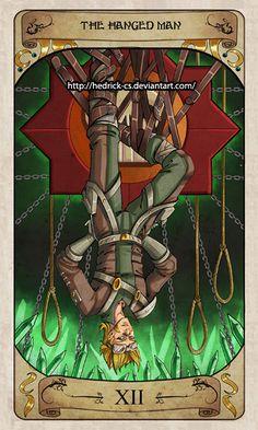 Cerebium Tarot 12 - The Hanged Man by Hedrick-CS on DeviantArt