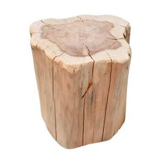 Oh wat leuk, deze wil jij hebben toch? Een boomstam als trendy bijzetter voor in je woonkamer. Fijn naast de bank, of als salontafeltje. Door de natuurlijke vor