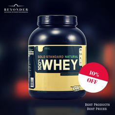 Sports nutrition products at 10% OFF  at http://beyonder.co/health-and-fitness/100-percent-gold-standard-whey-protein--5-lb-vanilla     #BestAtBeyonder #GoldStandardNatrualWhey #BuildMuscle #BeyonderOffers