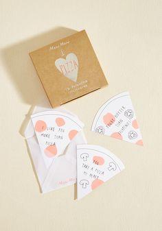 Love and Crust Valentine Set - Pink, White, Novelty Print, Valentine's, Handmade & DIY, Fairytale, Food, Sayings, Winter