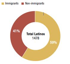 The differing experiences of immigrant or non-immigrant Latinos