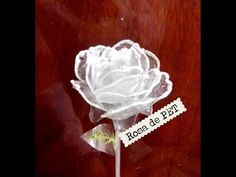 ROSES made of recycled plasti. This young lady does a clear video of how to. Water Bottle Crafts, Plastic Bottle Flowers, Plastic Bottle Crafts, Recycle Plastic Bottles, Flower Crafts, Diy Flowers, Fabric Flowers, Paper Flowers, Plastique Recyclable
