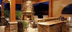 Rustic Refined Outdoor Living - Home