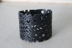 Falling Leaves Bracelet - All accessories are made from 100% repurposed inner tubes or car tires.  - vegan - ethical - handmade - one of a kind - Earth friendly -  www.chicmc.com  #WearTheChange