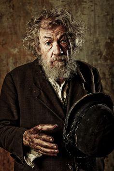 Sir Ian McKellen in Waiting for Godot