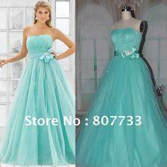 torquise dress 1