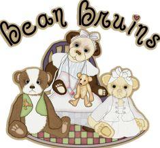 Bean Bruins Handmade Teddy Bears Mohair Bears
