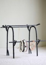 mystical forest jewelry stand