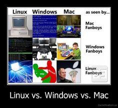 Windows Vs Mac Vs Linux 2