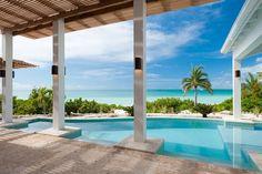 Future vacay??? Sapodilla Bay Vacation Rental - VRBO 384556 - 5 BR Providenciales Villa in Turks & Caicos Islands, Sapphire Sunsets: New Luxury Beachfront Villa W/ Pool, Amazing Views